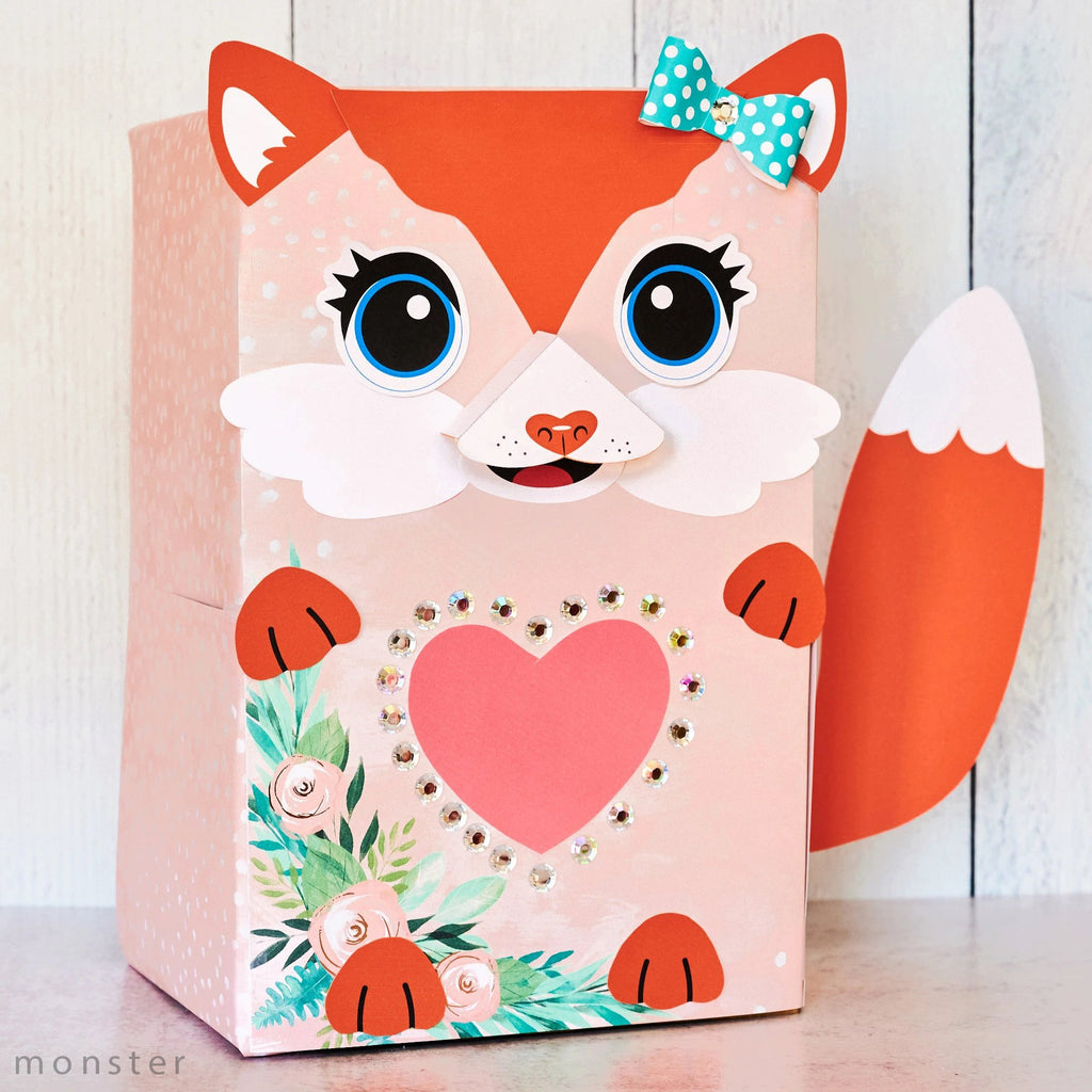 Fox Valentine Box Decor Kit