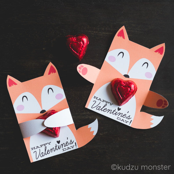 Valentine Fox Huggers - Kudzu Monster