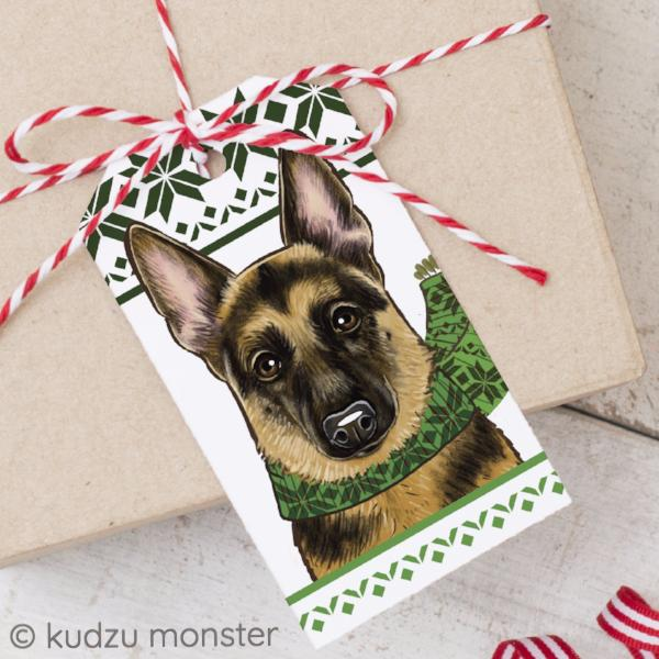 DIY German Shepherd Tags