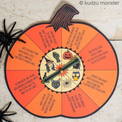 Halloween Activity Spin Game