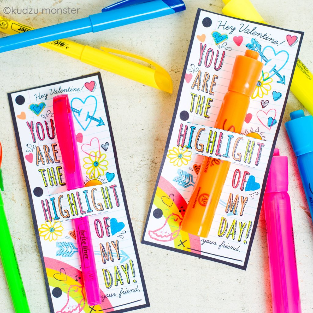 Highlighter Valentine