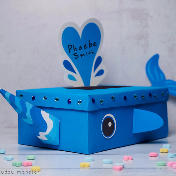 Narwhal Valentine Box Decor Kit