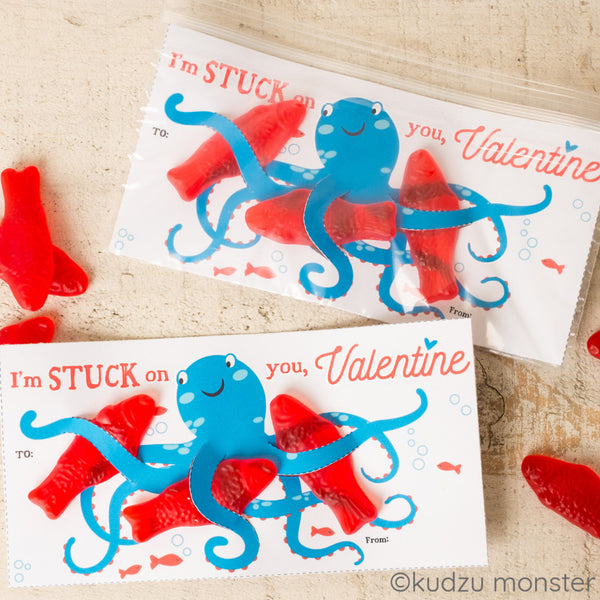Octopus Valentine - Kudzu Monster