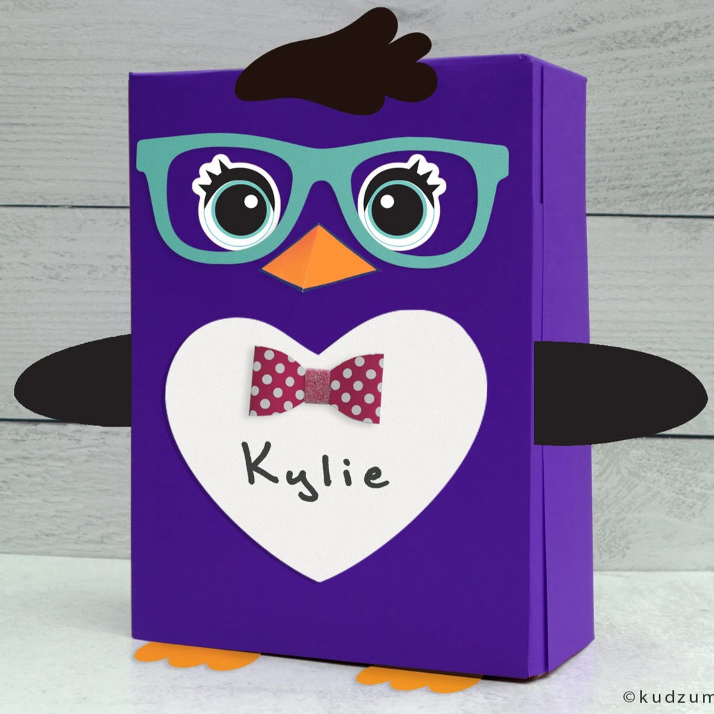 Penguin Valentine Box Decor Kit