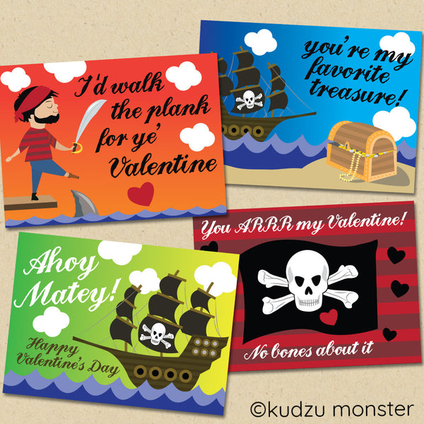 Valentines Day Kudzu Monster – Monster Valentine Cards