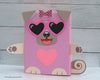 Pug Valentine Box Decor Kit