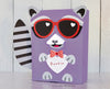 Raccoon Valentine Box Decor Kit