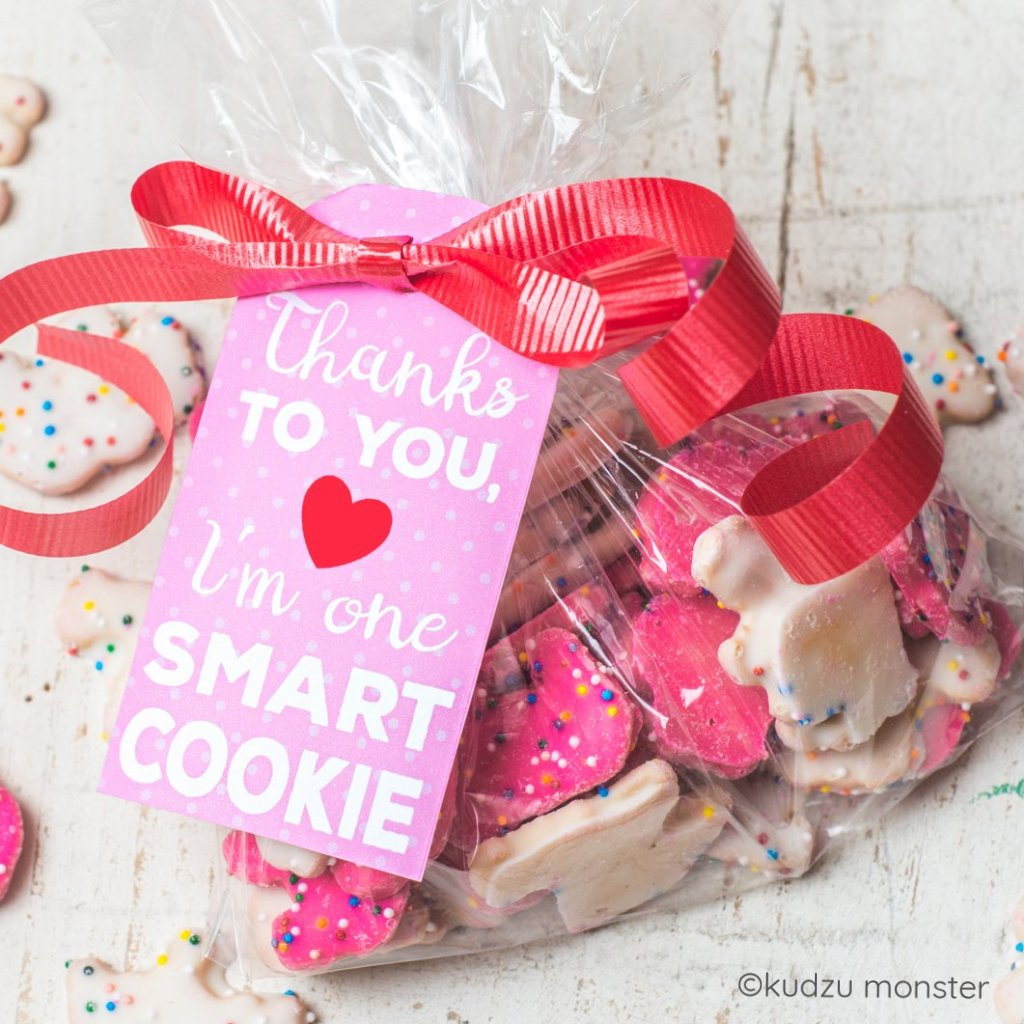 Smart Cookie Valentine Tag