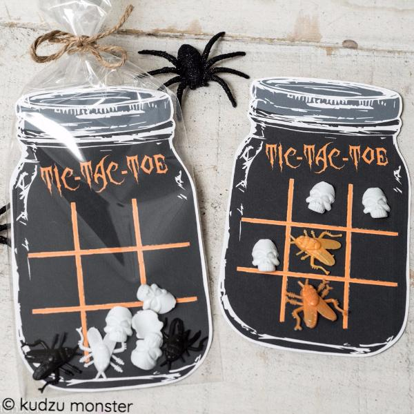 Tic Tac Toe Mason Jar Game