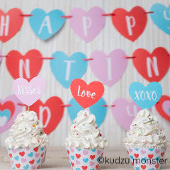 Valentine Party Kit - Kudzu Monster