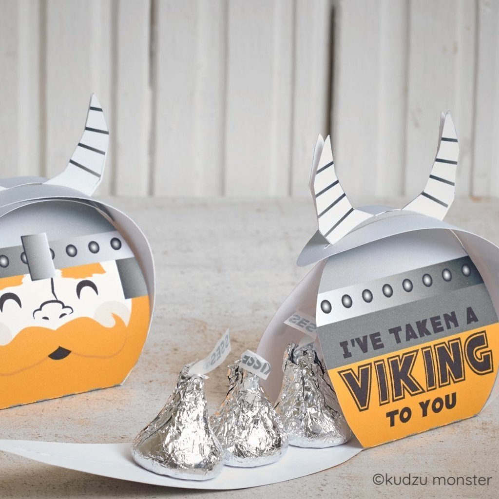 Valentine Viking Goody Box