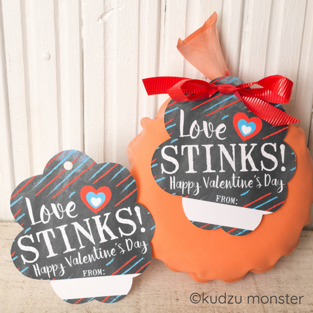 Whoopee Cushion Valentine - Kudzu Monster