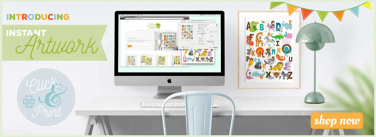 printable instant artwork download and print art for kids