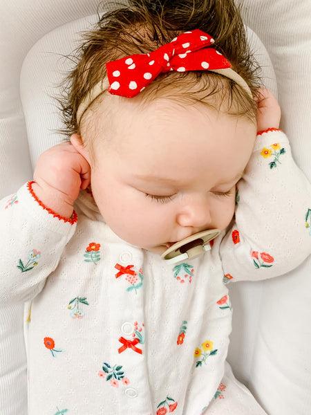 Our Fave Inexpensive (And CUTE) Baby Girl Sleepers