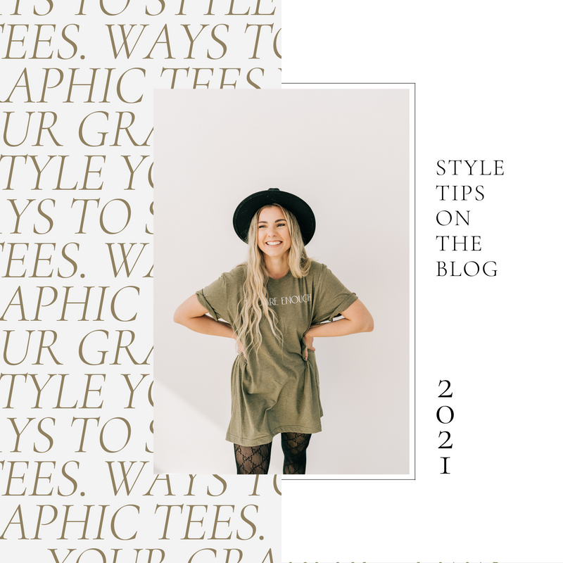 13 Graphic Tee Styling Tips