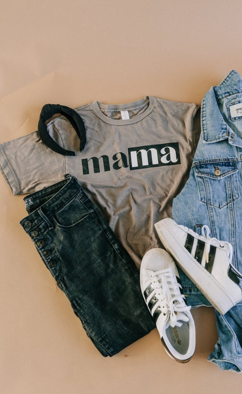 Mama Color Block HOLLY Tee
