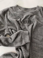 PREORDER (Ships By February 17) MAMA Teeny Embroidered JODIE Pullover