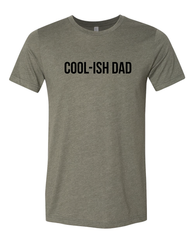 Daddin' All Day Every Day Red + Glossy Red Ink Tee
