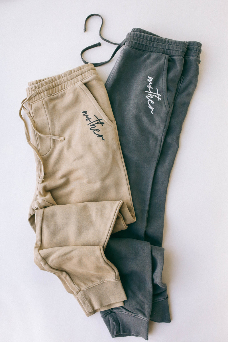 Mother Vintage Wash Pigment Dyed Pria Joggers