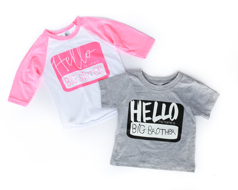 Perfectly Imperfect Unplug and Play PINK + White/Purple Color Changing Ink Kids Crew Neck Tee *Final Sale