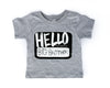 Hello, My Name is Big Brother/Sister Tee *Final Sale