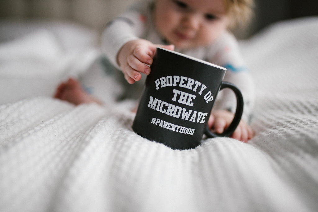 Property of the Microwave #Parenthood Mug