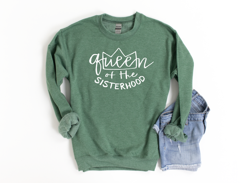 Queen of the SISTERHOOD LULU Pullover *Final Sale