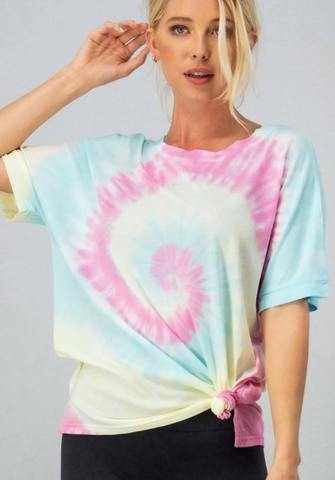 LAGUNA Tie Dye French Terry Top and Bottom Set * Final Sale