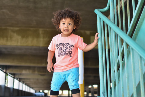 Be A Buddy White + Matte Black Ink Crew Neck Tee (Infant-Adult Sizes Available) *Final Sale