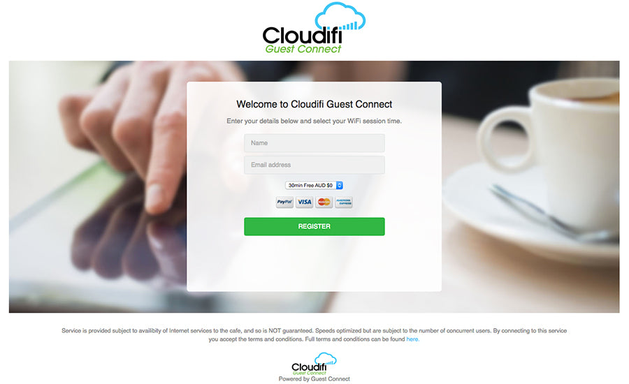 Cloudifi Guest Connect