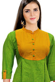 VAVarna Light green Colored Cotton Kurta AR10A28