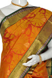 Coral Pure Kanchipuram Handloom Silk Saree