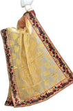 Cream Kalamkari Pure Kota Silk Saree