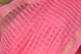 Pink Dhaka Handloom Pure Cotton Saree