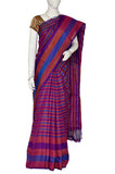 Purple Pure Uppada Handloom Silk Saree