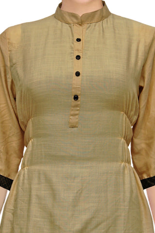 Light Green Fancy Short Straight Cut Surat Kurti