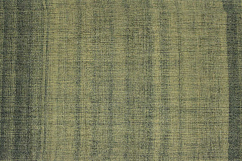Iguana Green Slub Weave Plain  Negamam Fabric