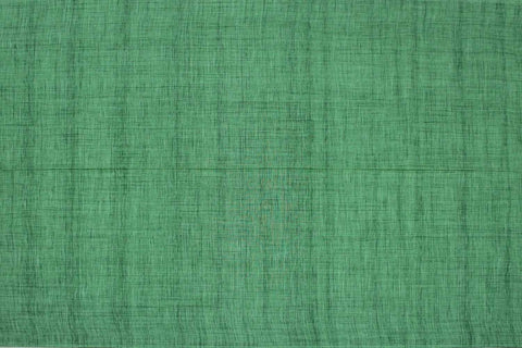 Pastel Green Slub Weave Plain  Negamam Fabric