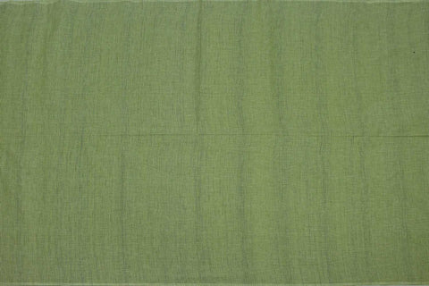 Dark Sea Green Slub Weave Plain Vertical Doriya Negamam Fabric
