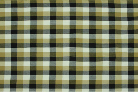 Grey Checks Weave Multicoloured Checks Mangalagiri Fabric