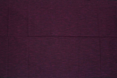 Dark Orchid Slub Weave Solids with Dark Slub Mangalagiri Fabric