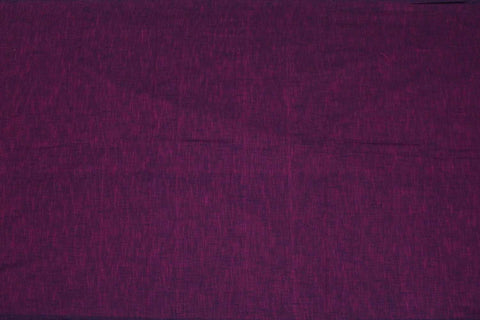Vivid Violet Slub Weave Solids with Dark Slub Mangalagiri Fabric