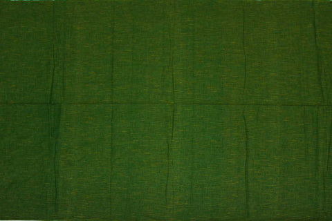 Dark Green Slub Weave Solids with Dark Slub Mangalagiri Fabric