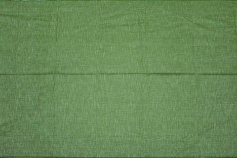 Forest Green Slub Weave Solids with Dark Slub Mangalagiri Fabric