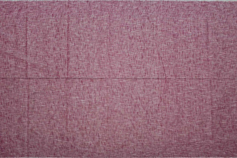 Cadillac Pink Slub Weave Solids with Dark Slub Mangalagiri Fabric
