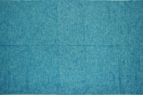 Medium Blue Slub Weave Solids with Dark Slub Mangalagiri Fabric