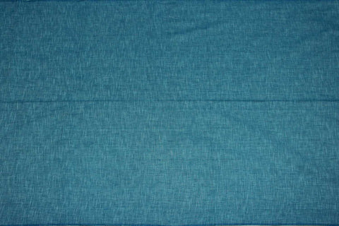 Baby Blue Slub Weave Solids with Dark Slub Mangalagiri Fabric