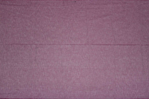 Plum Slub Weave Solids with Dark Slub Mangalagiri Fabric