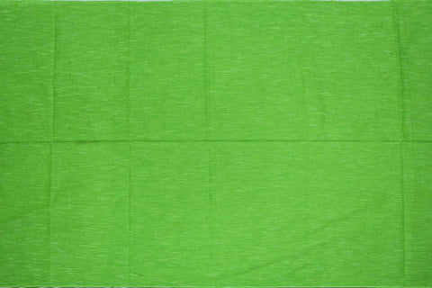 Yellow Green Slub Weave Solids with Dark Slub Mangalagiri Fabric