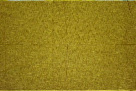 Orange Gold Slub Weave Solids with Dark Slub Mangalagiri Fabric